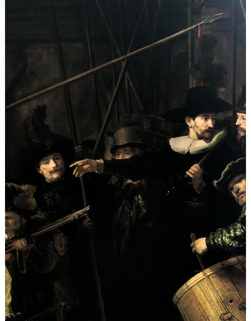 Gloss Cotton Inkjet 1727 - Rembrandt van Rijn / Nightwatch