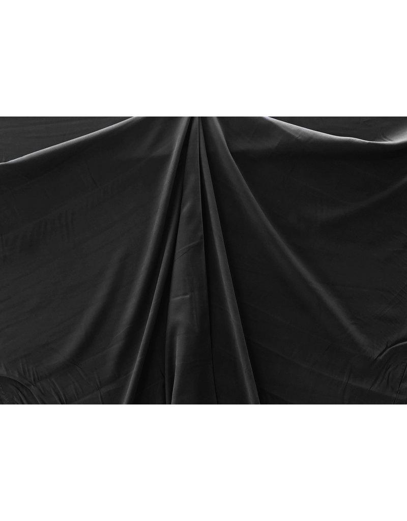 Viskose Gabardine Brushed SV10 - schwarz