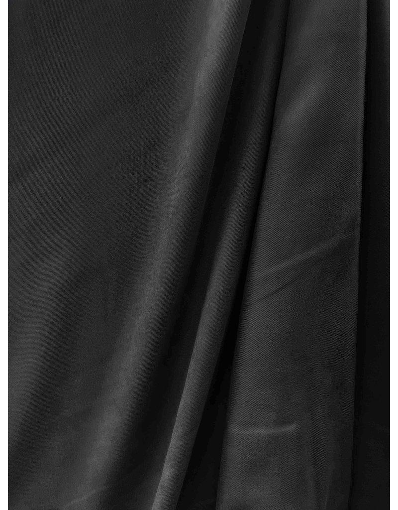 Viscose Gabardine Brushed SV10 - zwart