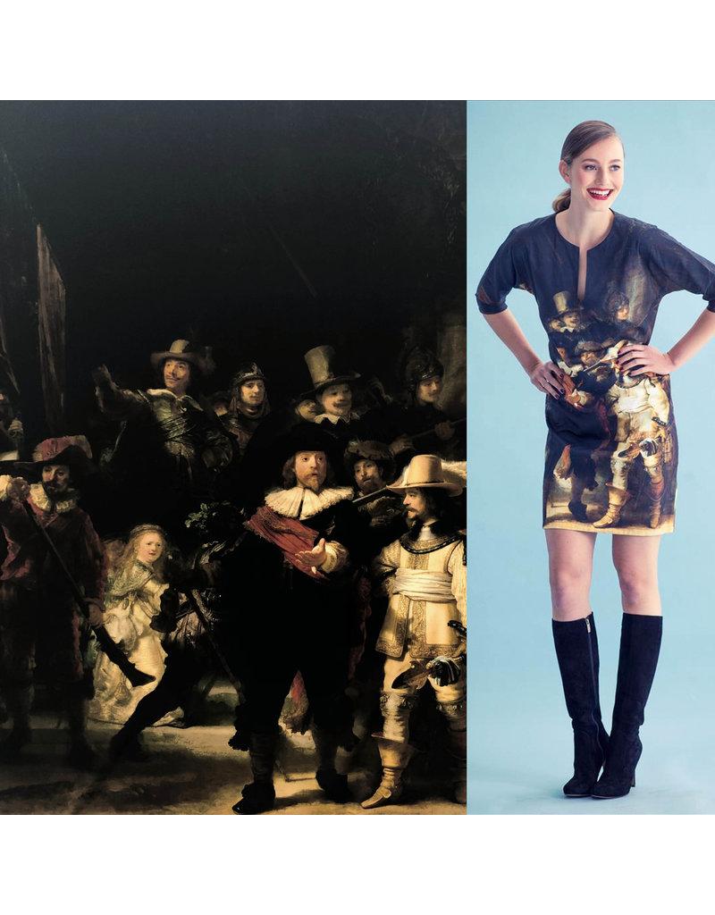 Glans Katoen Inkjet 1727 - Rembrandt van Rijn  / Nachtwacht