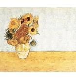 Gloss Cotton Inkjet 747 - Sunflowers, Vincent Van Gogh