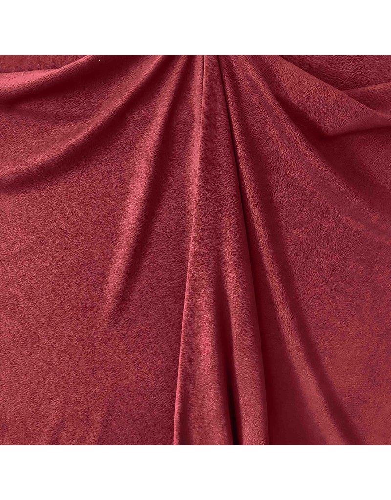 Scuba Suède ES02 - dark red