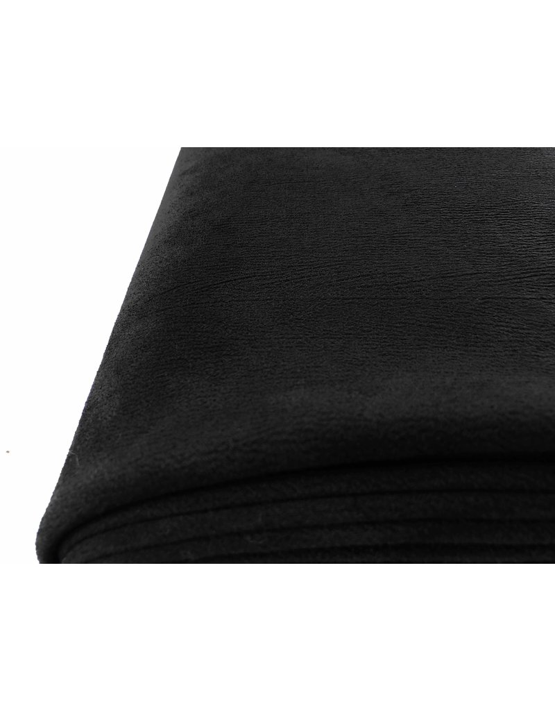 Imitation Wild leather Stretch ES04 - black