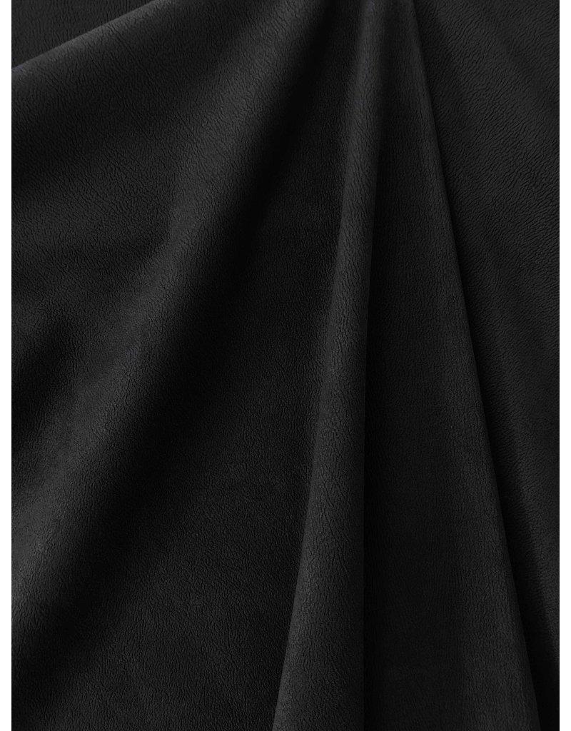 Imitation Wildleder Stretch ES04 - schwarz