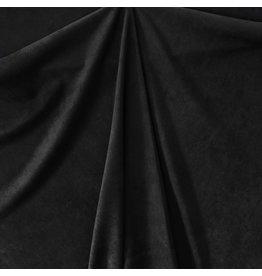 Imitatie Wildleder Stretch ES04 - zwart - MOUT