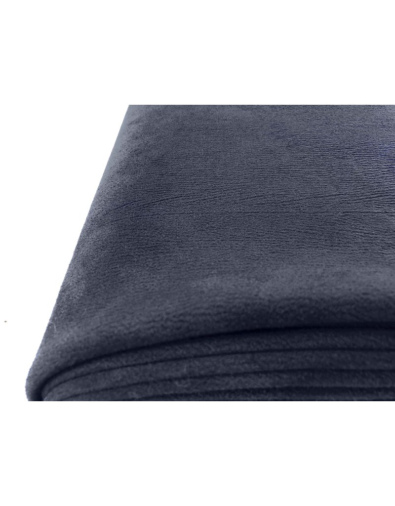 Imitation Wildleder ES05 - Jeans blau