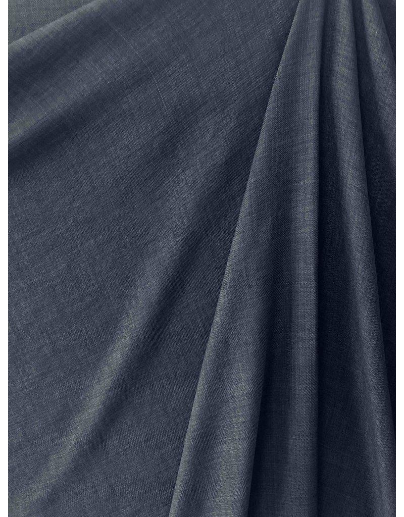 Leinen Wolle Imitation LW01 - jeansblau