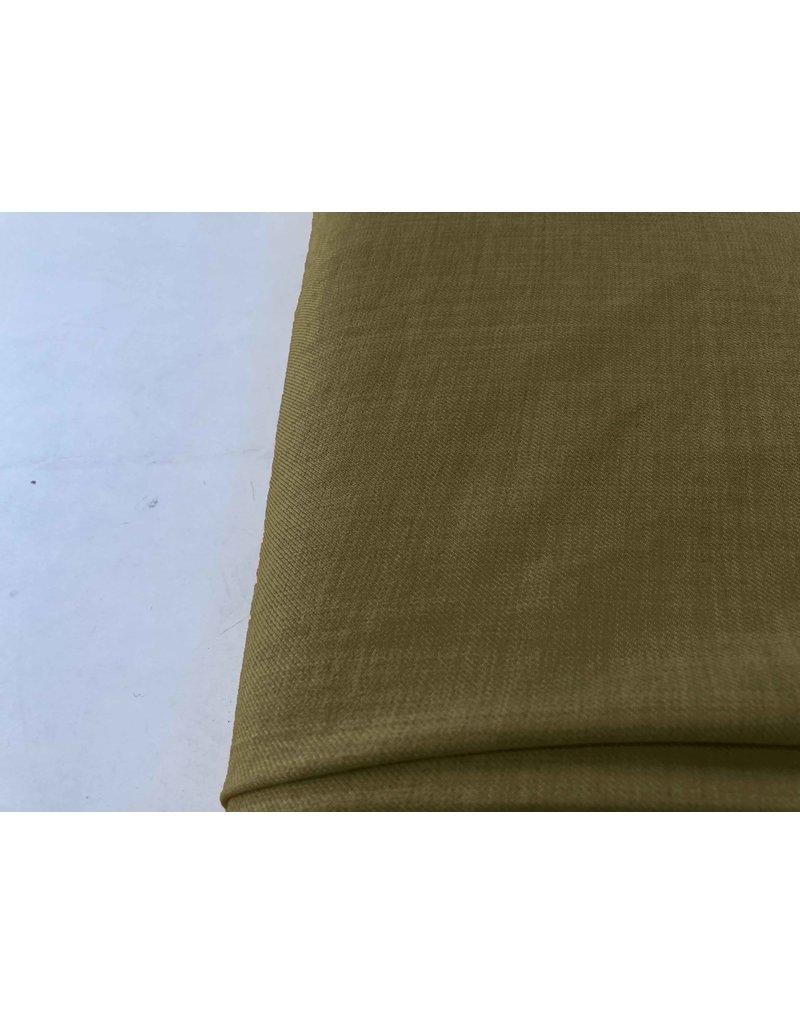 Laine de lin imitation LW06 - vert armée