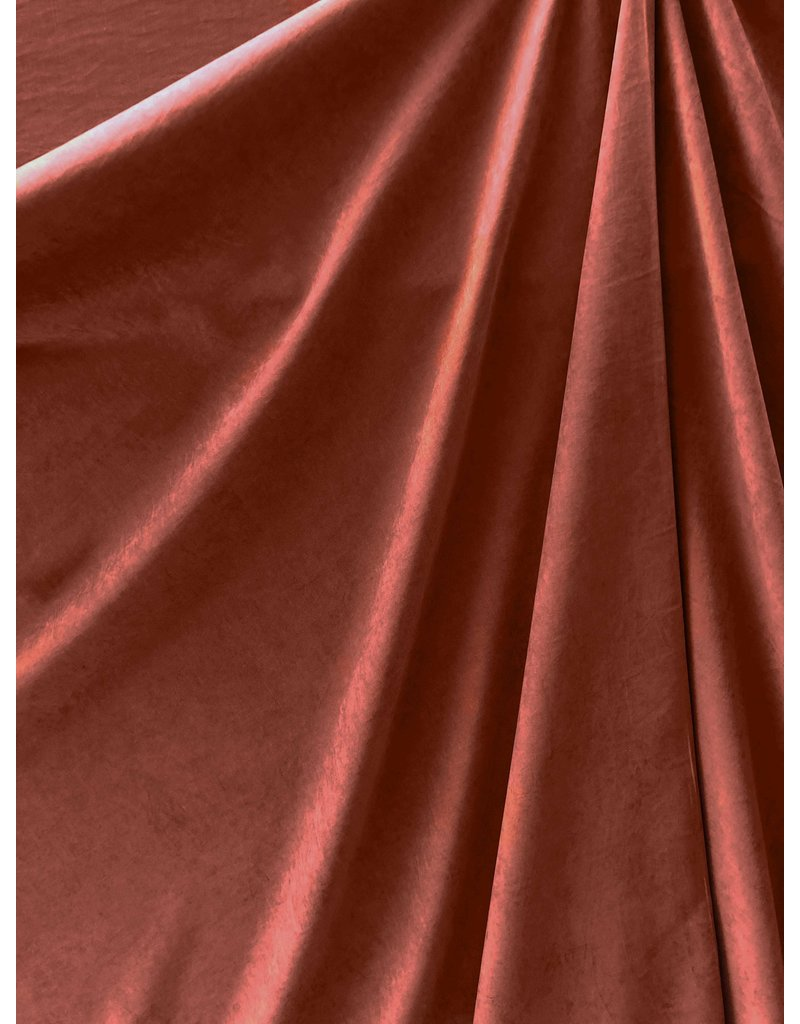 Cupro Touch SW11 - marron / rouge