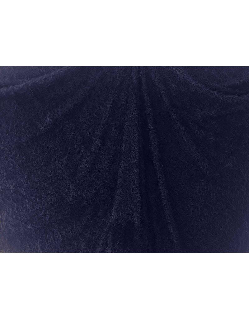 Fluffy Knit Melange FB01 - dunkelblau