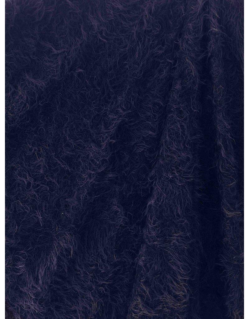 Fluffy Knit Melange FB01 - dark blue