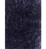 Fluffy Knit Melange FB01 - bleu foncé
