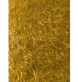 Fluffy Knit Melange FB02 - yellow ocher