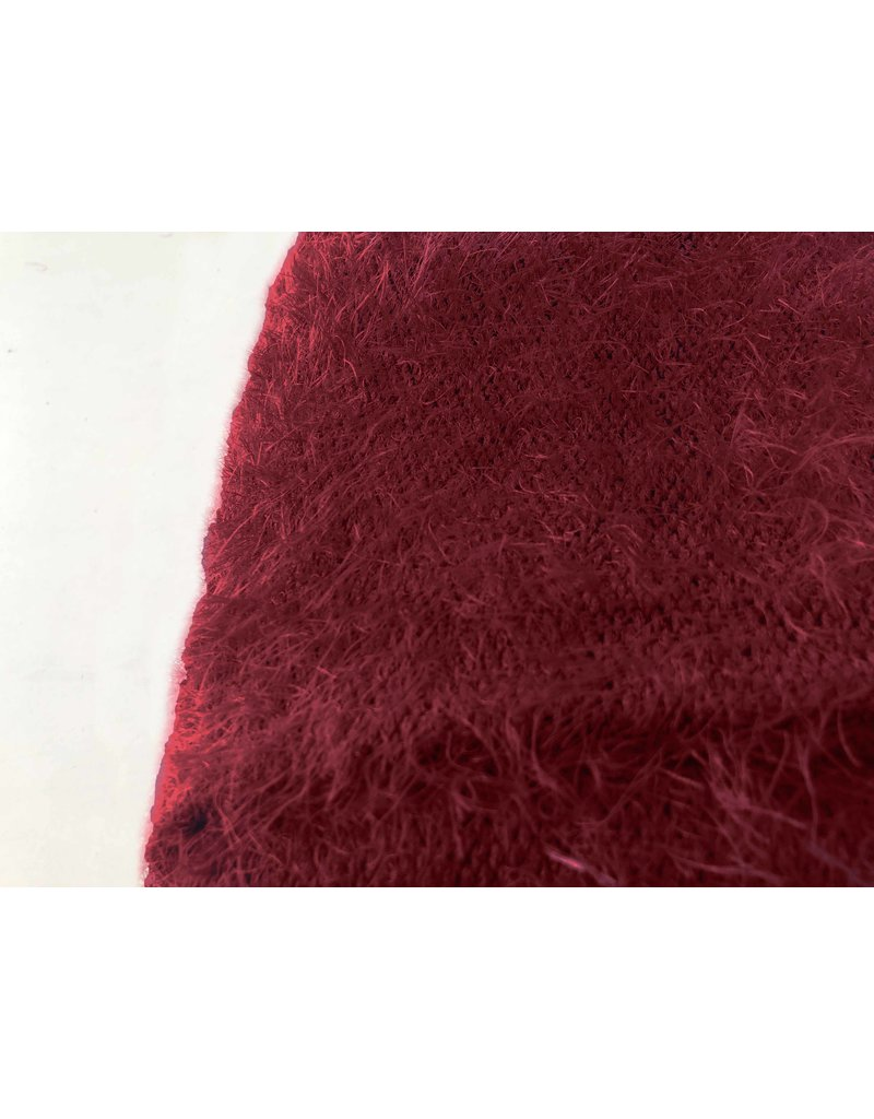 Fluffy Knit Melange FB03 - red
