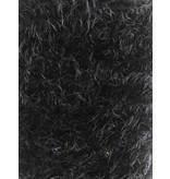 Fluffy Knit Melange FB04 - schwarz