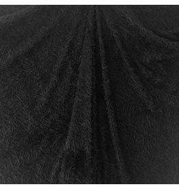 Fluffy Knit Melange FB04 - black