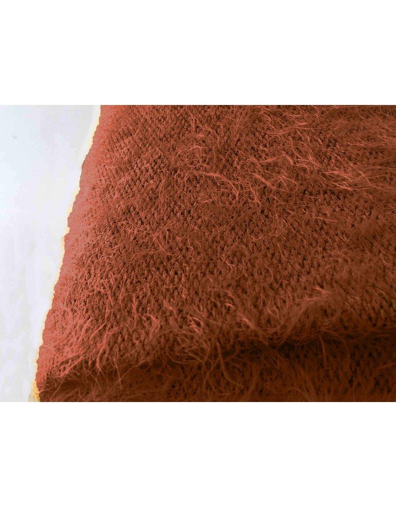 Tricot moelleux Melange FB05 - marron