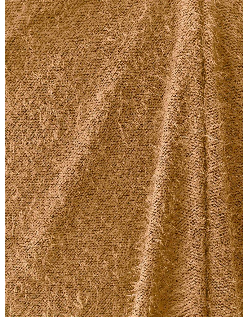 Fluffy Knitwear Melange  FB07 - camel