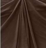 Viscose Gabardine Stone Washed GS09 - dark brown