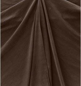Viscose Gabardine Stone Washed GS09 - dark brown