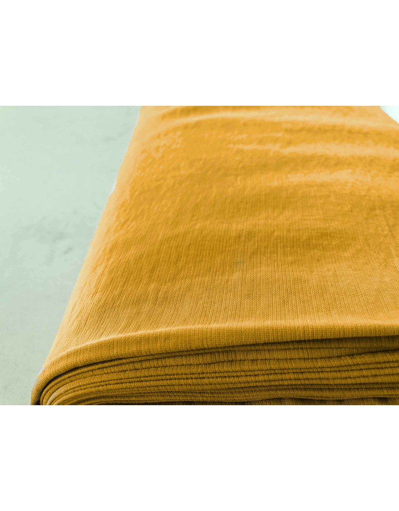 Viscose Stone Washed GS10 - okergeel