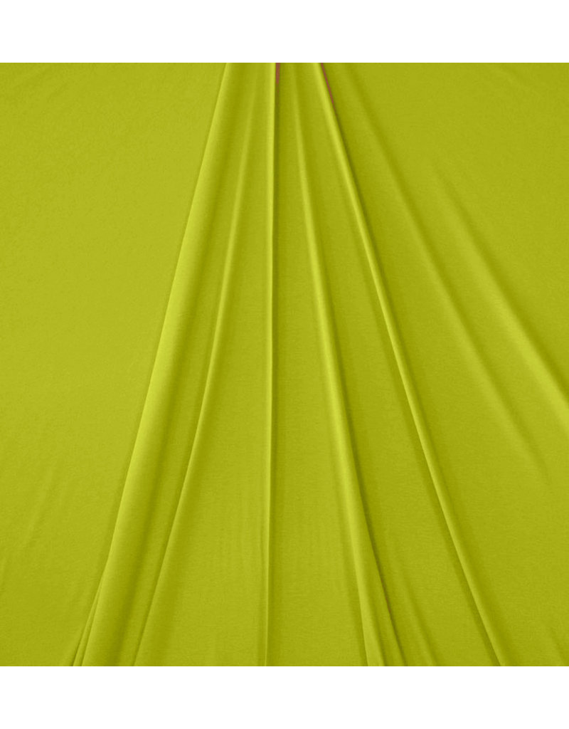 Premium Viskose Jersey PV13 - Limonengrün