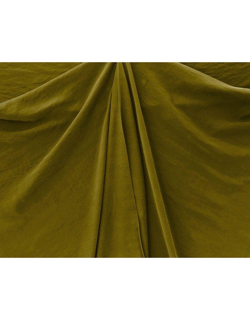 Viscose Gabardine Stone Washed GS11 - vert olive