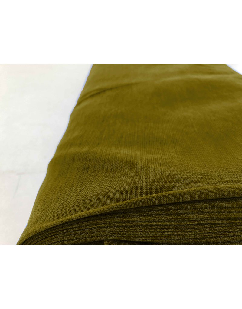 Viscose Stone Washed GS11 - olive green