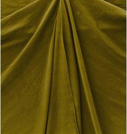 Viskose Gabardine Stone Washed GS11 - olivgrün