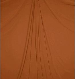 Mousseline de soie gaufrée SC25 - rouille