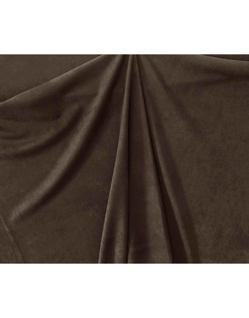 Imitation Wild leather Stretch ES10 - dark brown