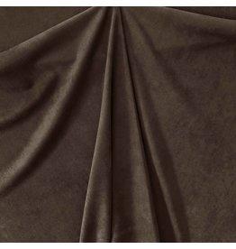 Imitation Wildleder Stretch ES10 - dunkelbraun