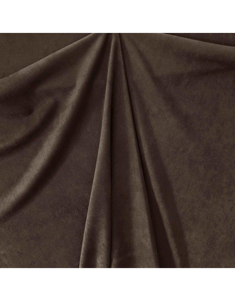 Scuba Suede ES10 - dark brown