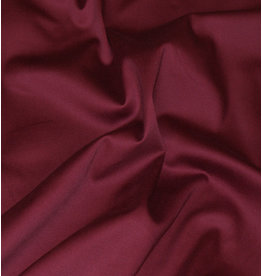 Satin Cotton Uni 002 - bordeaux red