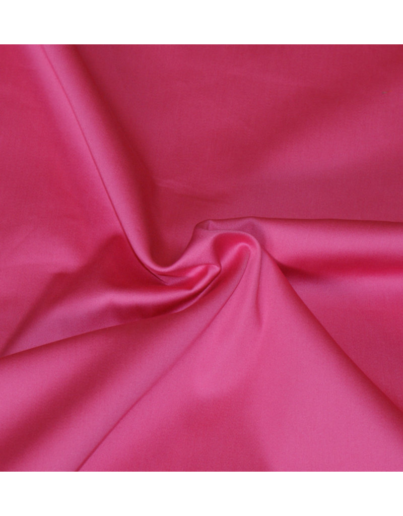 Baumwollsatin Uni 006 - rosa