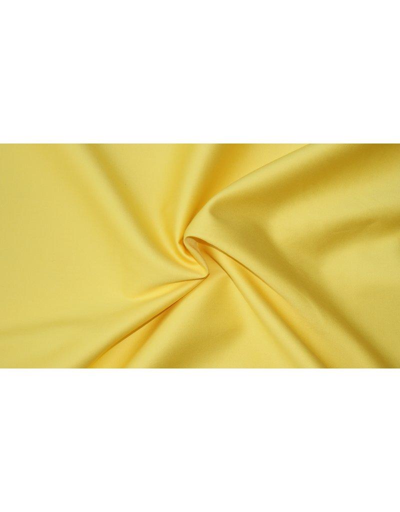 Satin de Coton Uni 0034 - clair jaune