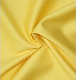 Katoen Satijn Uni 0034 - licht geel