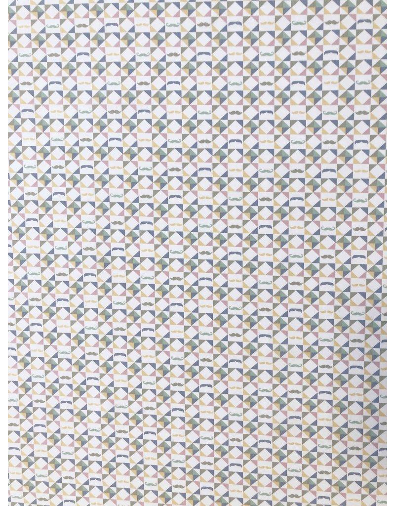 Jet d'encre en popeline de coton 1626