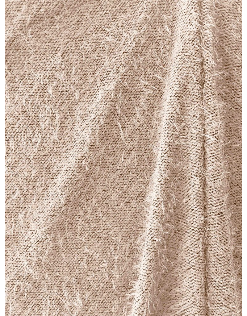 Fluffy Knit Melange FB08 - creme
