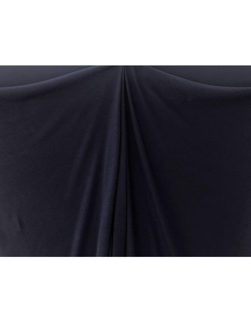 Gestrickte Baumwolle Uni GK01 - dunkelblau