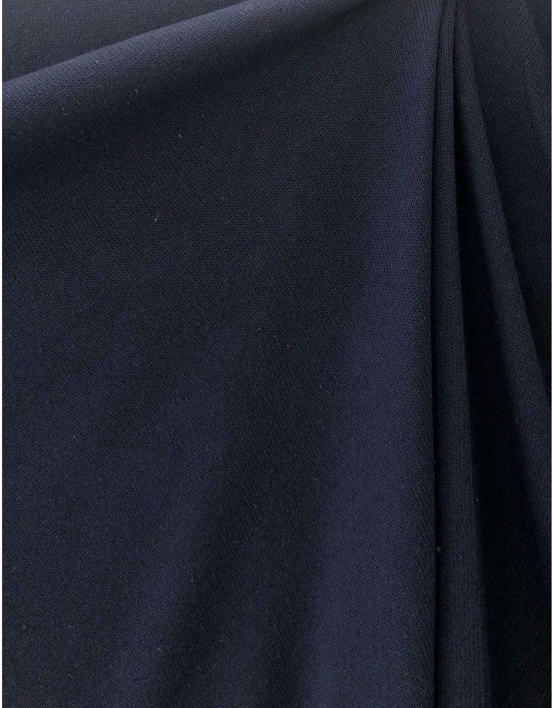 Gebreide Katoen Uni GK01 - donkerblauw