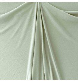 Gestrickte Baumwolle Uni GK02 - pudergrün