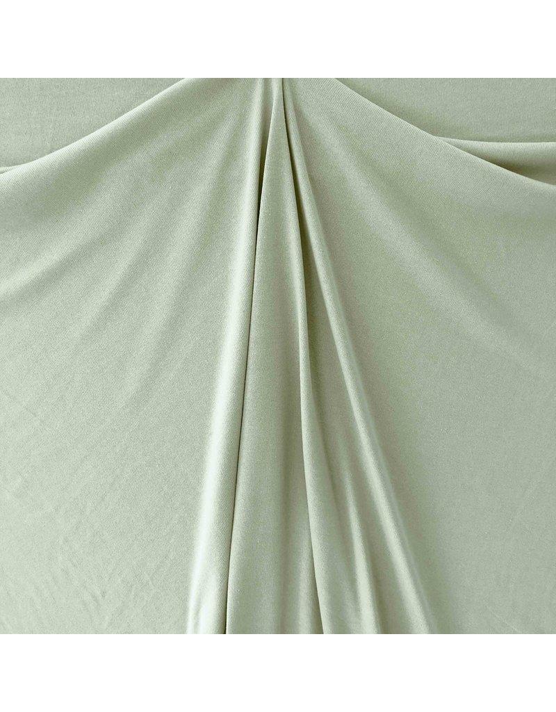 Coton tricoté Uni GK02 - vert poudre