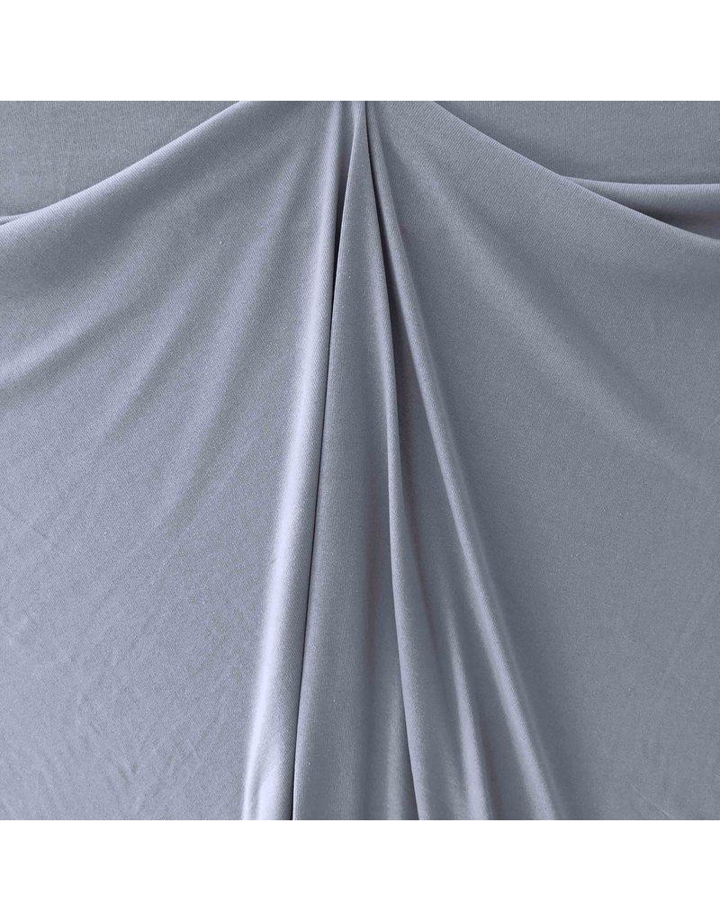 Knitted Cotton Uni GK04 - bleu jean