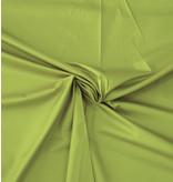 Katoen Satijn Uni 0054 - licht groen