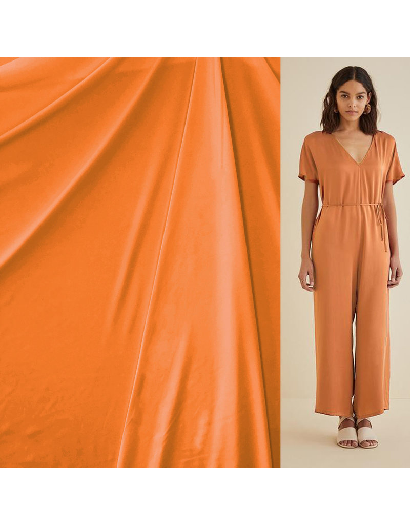 Italian Travel Stretch Jersey J31 - oranje