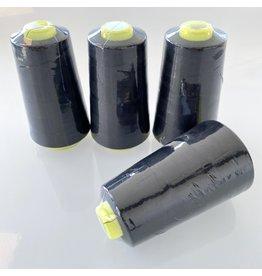 Lockgaren - zwart - PAKKET 4 st.