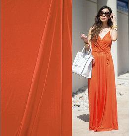 Premium Viscose Jersey PV15 - orange
