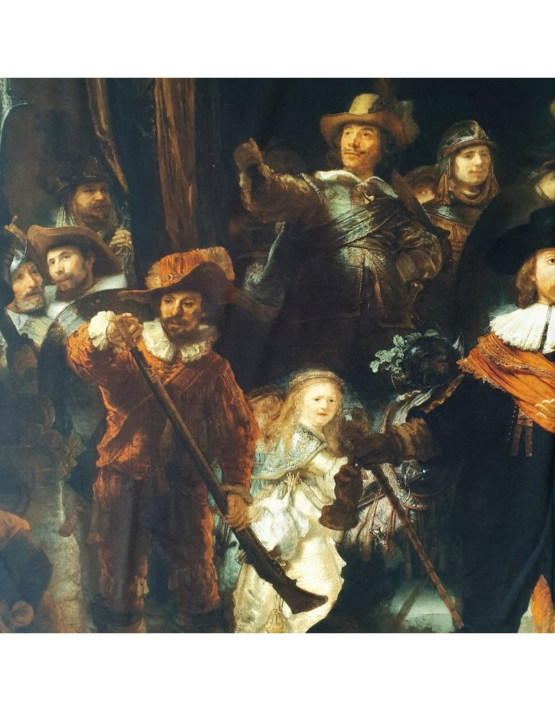 Cotton Inkjet 392 - Rembrandt van Rijn / Night Watch