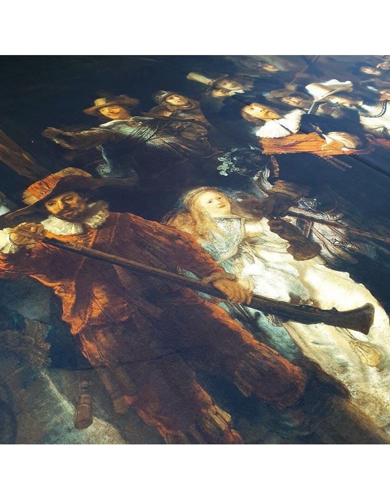 Katoen Inkjet 392 - Rembrandt van Rijn  / Nachtwacht